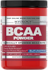 BCAA Powder Blue Raspberry <p><b>From the Manufacturer's Label: </p></b><p>BCAAs may be the most important aminos for athletes and bodybuilders as they are directly involved in protein synthesis at the genetic level.** BCAAs can also be broken down and used as an energy source to fuel exercise as needed.** BCAA Powder supplies a precise, clinically studied ratio of Leucine, Valine and Isoleucine (45/30/25).</p> <p>BCAA Powder can be taken after train