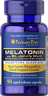 Melatonin with St. John's Wort 3 mg / 900 mg