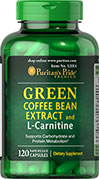 Green Coffee Bean Extract & L-Carnitine
