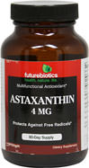 Astaxanthin 4 mg <p><b>From the Manufacturer's Label:</b></p> <p>Astaxanthin 4 mg is manufactured by Futurebiotics.</p> 90 Softgels 4 mg $29.99