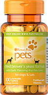 Dried Brewer's Yeast for Dogs & Cats