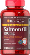Salmon Oil 1200 mg (250 mg Active Omega-3)