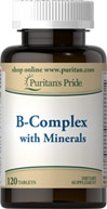 Vitamin B-Complex with Minerals