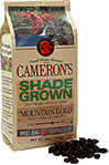 Shade Grown Mountain Gold Whole Bean Coffee
