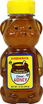 Premium Pure Clover Honey Bear