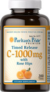 Timed Release C-1000mg with Rose Hips