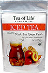 Organic Black Ginger Peach Iced Tea