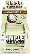 Organic Coconut Simple Squares