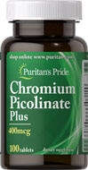 Chromium Picolinate Plus 400 mcg