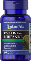 Caffeine 50 mg & L-Theanine 100 mg