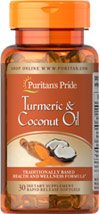 Turmeric Standardized Extract 400mg & Coconut Oil 500 mg