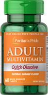 Quick Dissolve Multivitamin Orange