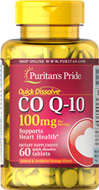 Quick Dissolve CoQ10 Orange