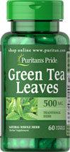 Green Tea Leaves 500 mg