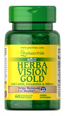 HerbaVision Gold Lutein Bilberry with Zeaxanthin