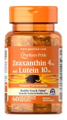 Zeaxanthin 4mg with Lutein 10mg