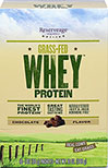 Grass Fed Whey Protein Chocolate Packets