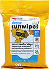 Doggy Sun Wipes SPF 15