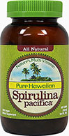 Pure Hawaiian Spirulina Pacifica® 500 mg