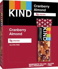 Kind Cranberry Almond + Antioxidants with Macadamia Nuts