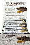 Simply Protein Bar Peanut Butter Chocolate