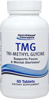TMG (Tri-Methyl Glycine) 500 mg