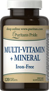 Multi-Vitamin + Mineral- Iron Free