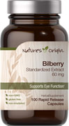 Bilberry Standardized Extract 60 mg