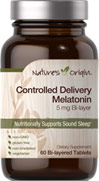 Controlled Delivery Melatonin 5 mg Bi-layer