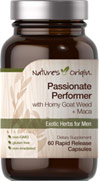 Passionate Performer with Horny Goat Weed and Maca