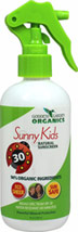 Organics Sunny Kids Natural Sunscreen Spray