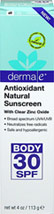 Antioxidant Natural Sunscreen