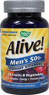 Alive!® Men's 50+ Gummy Multi Vitamin