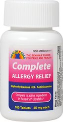 Complete Allergy Ultra Tab- Diphenhydramine HCl