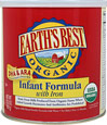 Organic Infant Formula with Iron