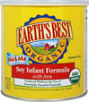 Organic Soy Infant Formula with Iron