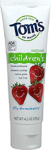 Natural Children's Fluoride Toothpaste