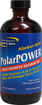 PolarPower® Wild Sockeye Salmon Oil