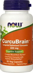 CurcuBrain™ Longvida® Optimized Curcumin 400 mg