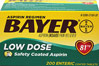 Bayer Low Dose Enteric Coated Aspirin