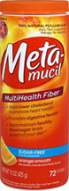 Metamucil MultiHealth Fiber Sugar Free Orange