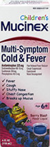 Children's Mucinex Multi-Symptom Cold & Fever