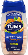 Tums Antacid Sugar Free Orange