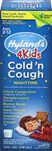 Hyland's 4Kids Nighttime Cold 'n Cough