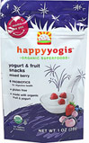 Organic Mixed Berry Yogurt & Fruit Snacks