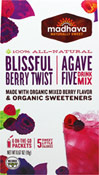AgaveFive Blissful Berry Twist Drink Mix