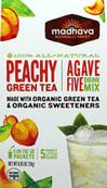 AgaveFive Peachy Green Tea Drink Mix