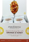 Sesame Energy Bar Orange Honey