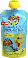 Organic Apple Blueberry Smoothie Packs