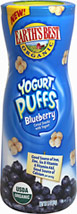 Organic Yogurt Puffs Blueberry